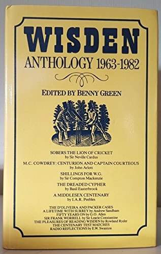 Wisden Anthology 1962-82