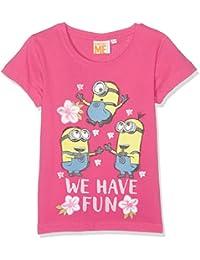 Minions Despicable Me Chicas Camiseta manga corta - fucsia