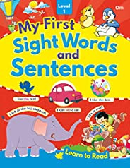 My First Sight Words and Sentences Level - 1
