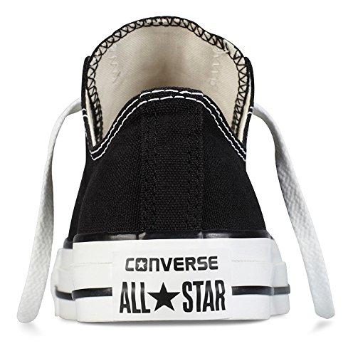 Converse Chuck Taylor All Star OX, Unisex-Erwachsene Sneakers, Schwarz (Black), 46.5 EU (12 Erwachsene UK) -