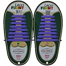 Plantillas Coimbra S.L. Cordones de silicona sin nudos y reversible (20 unidades)