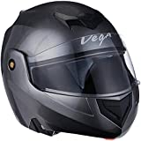 Vega Crux DX Flip-Up Helmet (Anthra, L)