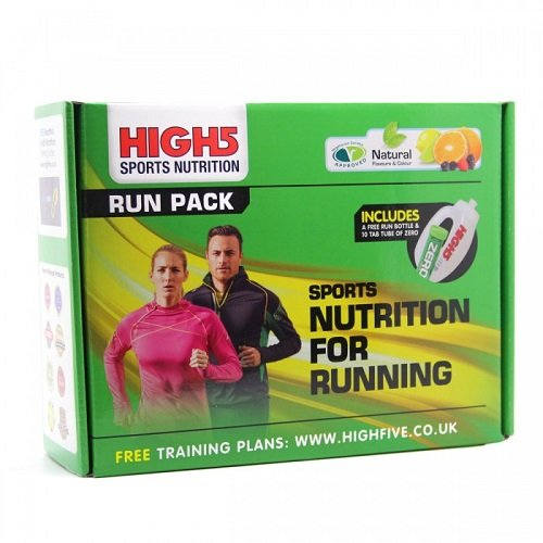 High5 Marathon Run Pack mit Powerriegel, Gel