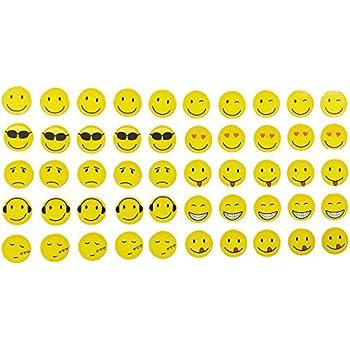 k hlschrankmagnete smiley magnete f r magnettafel kinder stark emoji lustig 6er set gro. Black Bedroom Furniture Sets. Home Design Ideas