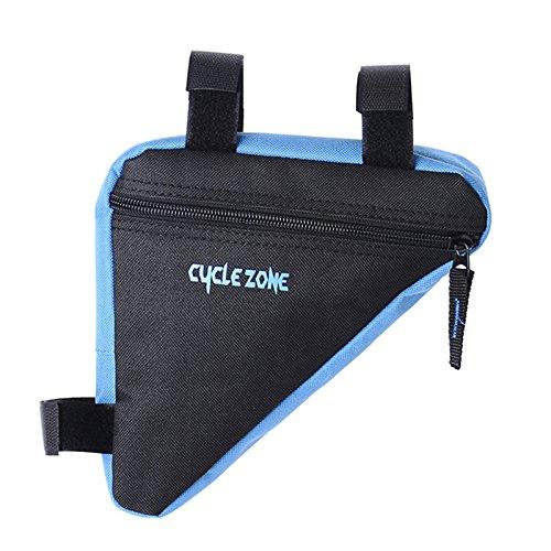 Lanlan vorne Top Frame Tasche vorne Sattel Triangle Tasche Bike Zubehör für Mountain Bike blau