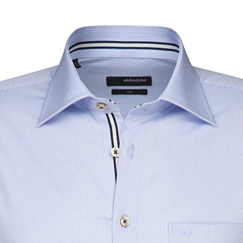 Chemise Uno structurée Bleu