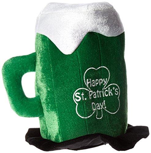 Beistle 30712Plüsch St. Patrick 's Day Oktoberfest - Day Green Hat