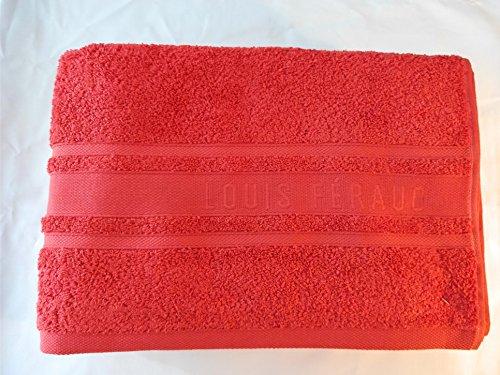 Vandenhove Linge De Maison Lot DE 2 Draps de Bain (140x70 cm) 100% Coton 560gr/m2 Louis FERAUD