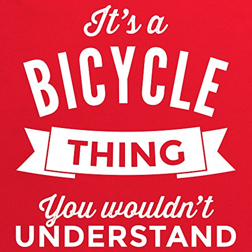 It's a Bicycle Thing T-shirt, Uomo Rosso