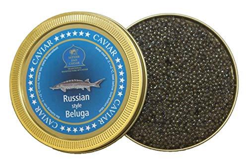 Caviale beluga stile russo 250g (caviale di storione)