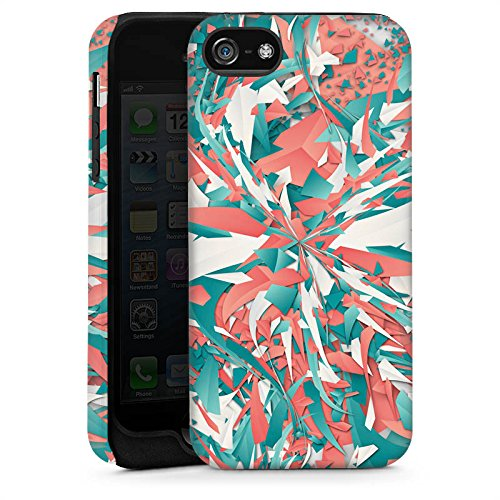Apple iPhone 4 Housse Étui Silicone Coque Protection Couleurs Explosion Cristaux Cas Tough brillant