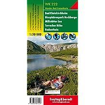 Bad Kleinkirchheim - Biosphärenpark Nockberge - Millstätter See - Turracher Höhe - Radenthein, Wanderkarte 1:50.000, WK 222, freytag & berndt Wander-Rad-Freizeitkarten
