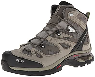 Salomon Men Comet 3D Gtx High Rise Hiking Boots, Multicolor (Dark Titanium/Swamp/Turf Green), 7 UK 40 2/3 EU