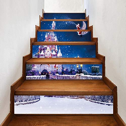 Wangxuan6 Festival-Alte Mann-Art-Treppen-Applique-Aufkleber-Familie Des Feiertags-3D Für Küchen-Wandbild-Dekoration