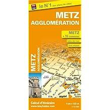 Plan de Metz et de son agglomération