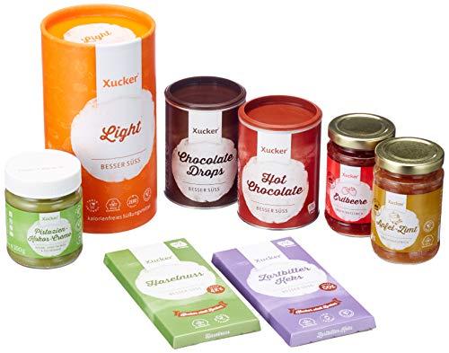 Xucker Genussset – zuckerarme und zuckerfreie Leckereien mit Xylit und Erythrit – Set