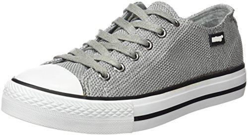 MTNG Originals Damen 13991 Sneakers, Grau Versilbert (MESH SATIN SILBER)