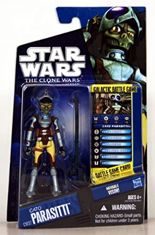 Star Wars - 25276 - The Clone Wars - Galactic Battle Game - Action Figur - CW37 - Cato Parasitti (env. 10 cm / 3 3/4