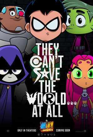 Import Posters Teen Titans GO! to to The Movies - U.S Movie Wall Poster Print - 30CM X 43CM