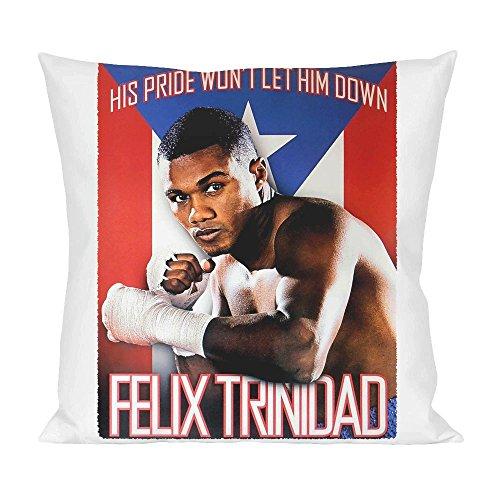 Felix Trinidad Poster Pillow (Puerto Rico-boxer)