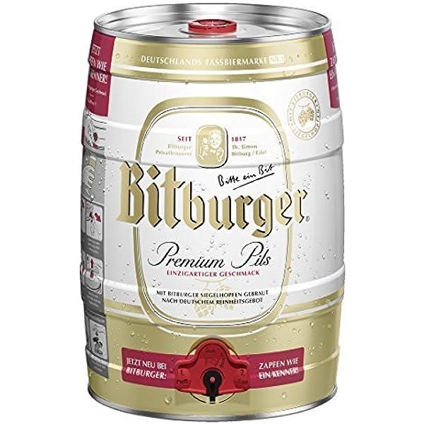 Bitburger Pils (1 x 5 l): : Bier, Wein & Spirituosen