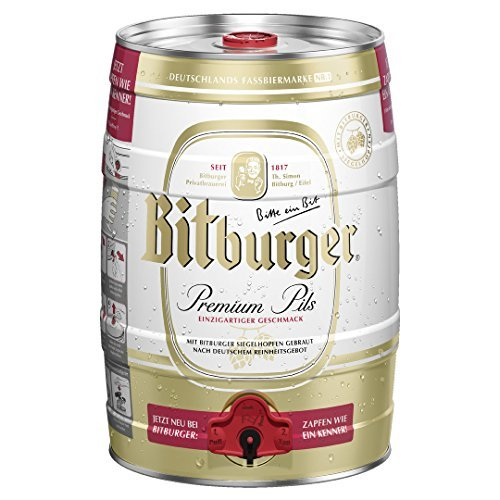 Partydose Bitburger Pils a 5,0 Liter Bier