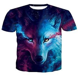 ZzSTX 3D Print Kühlen T-Shirt Männer Frauen Sommer Tops Tees T-Shirt Mode T Shirts M-4Xl