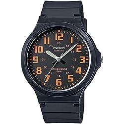 Casio Reloj Analógico de Cuarzo para Hombre con Correa de Resina – MW-240-4BVEF
