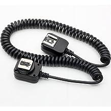 DSLRKIT - Cable sync de control remoto de exposición i-TTL para flash externo Nikon (3metros)