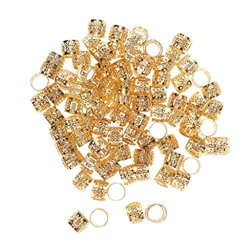 hmuck Dreadlocks Perlen Haarperlen - Gold ()