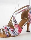ShangYi Les sandales de femmes latines satin talon aiguille Buckie chaussures de danse , pink-us5 / eu35 / uk3 / cn34 , pink-us5 / eu35 / uk3 / cn34