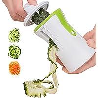 Coquimbo Cortador de Verduras, para hacer espaguetis de verduras y patatas, cortador de pepinos, rallador de zanahorias, rallador de verdura, Utensilios de Cocina para Platos Sanos y Creativos
