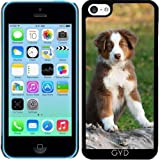 DesignedByIndependentArtists Coque pour Iphone 5c - Mignon Chiot Berger Australien by...