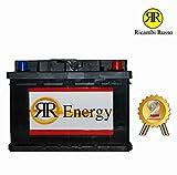 Batterie Voiture 60Ah rr-energy 420en 12V = (bOSCH 60Ah 540A 0092s40050) POS. DX