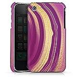 DeinDesign Coque Compatible avec Apple iPhone 3Gs Étui Housse marbre Pierres précieuses Marble