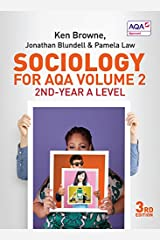 Sociology for AQA Volume 2: 2nd-Year A Level Paperback