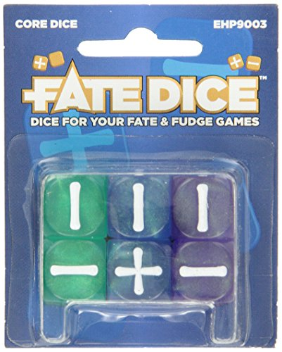 Evil Hat Productions Fate Dice: Core Dice I