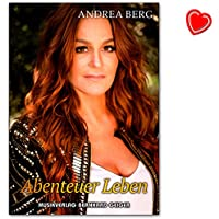 Andrea Berg–Aventure vie–SONGBOOK pour Chant, PIANO, Accordéon–Note livre avec cœur Note colorée Pince