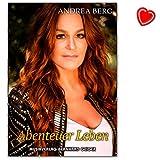 Andrea Berg–Avventura Vita–Song Book per canto, pianoforte, Fisarmonica–libro Note con colorato herzfoermiger Note KLAMMER