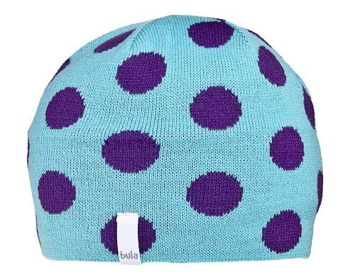 Bula Kinder Beanie K Polka Dot, turq (0067), one size, 6101200232 (Polka Dot Turq)