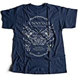 Photo de 9368n Sunnyvale Institution Hommes T-Shirt The Chaos Butterfly Theory Future Travel Effect Time Past par Flamentina