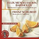 Felix Mendelssohn Bartholdy: Quartett in A Dur, Op. 13. Adagio non lento