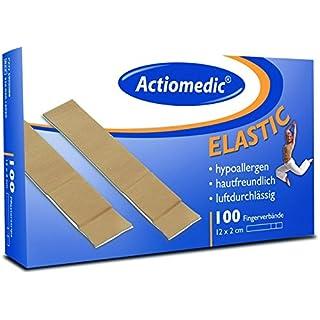 Actiomedic® ELASTIC Fingerverband Hautfarben 12 x 2 cm