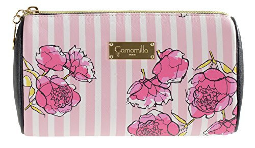 Camomille Milano- necessaire Stripe & Flower Rose