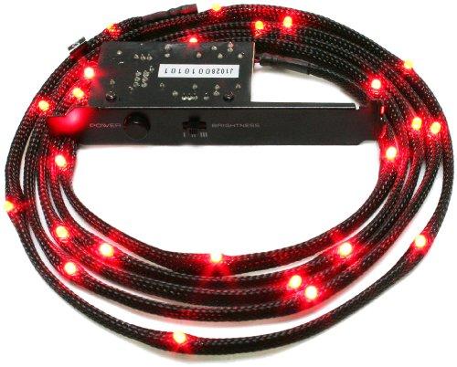 P3-karte (NZXT CB-LED20-RD LED-Kabel, 200cm, Rot)