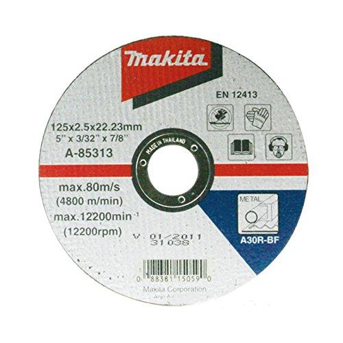 Makita d-18568115mm 4,5in Metall schneiden Bohrung Flache Scheibe 22mm