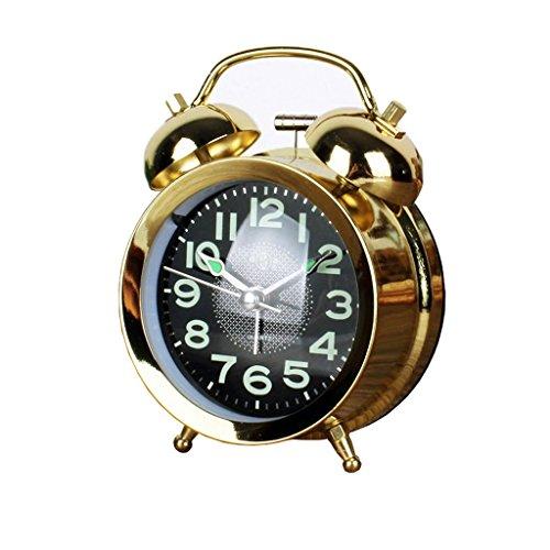 HUACANG Silencioso, No El Hacer Tictac Responder Reloj