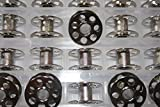 Spulenbox + 25 Metallspulen für BERNINA Nähmaschinen mit CB Greifer + 1 Metallspule gratis