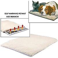 Hemore Heizdecke für Hunde und Katzen, selbstheizend, Thermisch, waschbar, Keine elektrische Decke