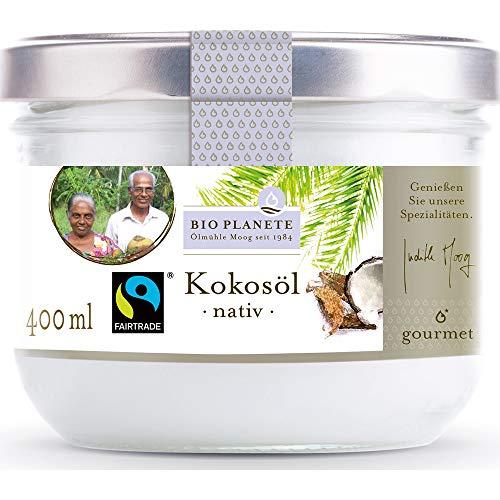 Bio Planete Bio Kokosöl nativ Fairtrade (2 x 400 ml)